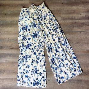 Yado Brand Palazzo Pant with tie waist